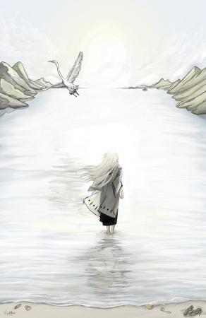 White Crane (poster)