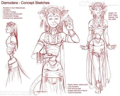 Character Concept - Damodara