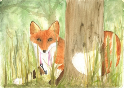 The fox and the key