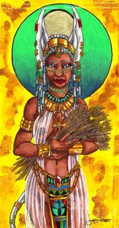 Priestess of Anubis