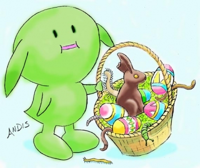 Muu's Easter Basket