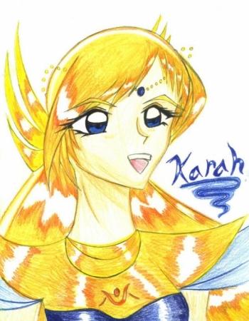 Karah- colored