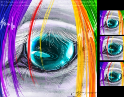 Robot Unicorn's Eye - Icon