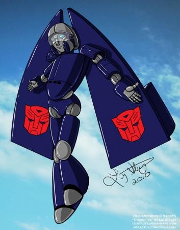 Transformers OC- Crossfire