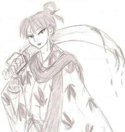 Jakotsu and his Jakotsutou