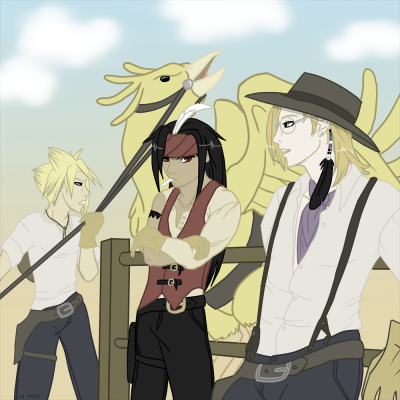 the Chocobo Express - FF7