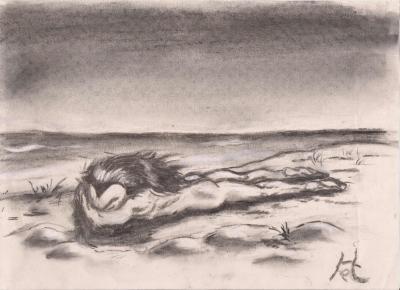 Dozing at the Beach