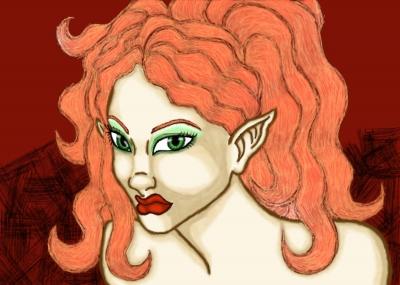Redheaded Elf