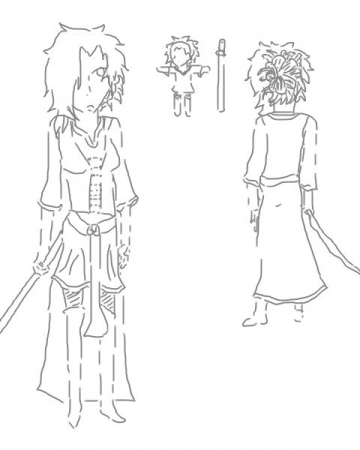 Concept character design