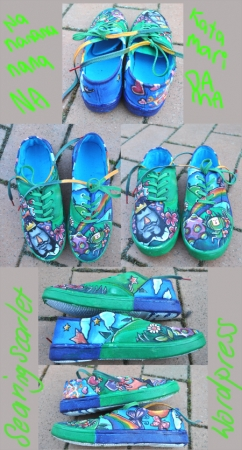 Katamari Damashoes