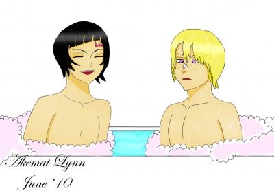 Luppi X Wonderweiss: Bath Time