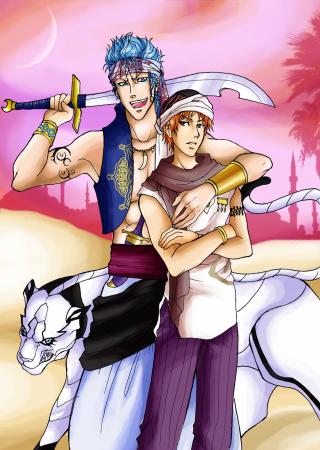 The new Bleach Arabian Nights