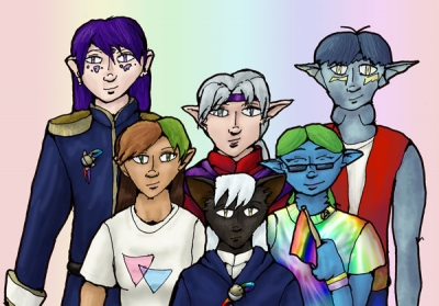 GLBT Pride: Phoenix Dawn Cast