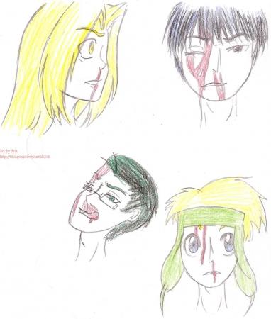 FMA nosebleeds group 1