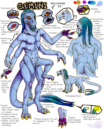 ref sheet: Gemini