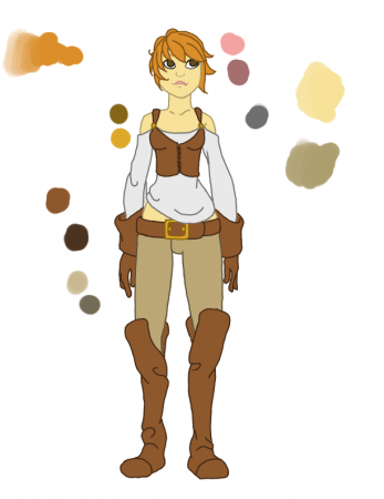 Alais Design (WIP  colored)
