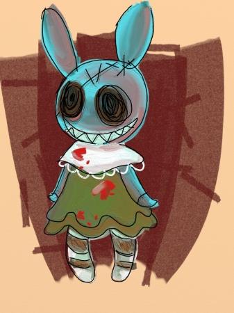 iPad Bunny