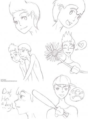 LucassNess doodles