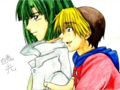 Hikaru y Akira