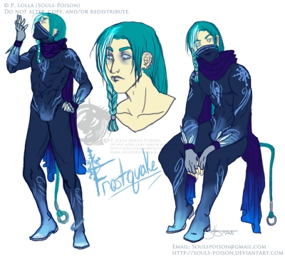 Frostquake Character Concept