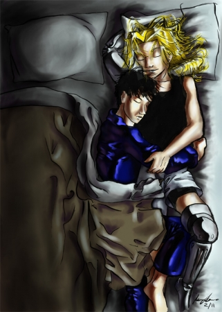 FMA: nighttime snuggles color