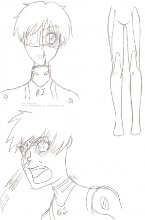 Shinji wound doodles