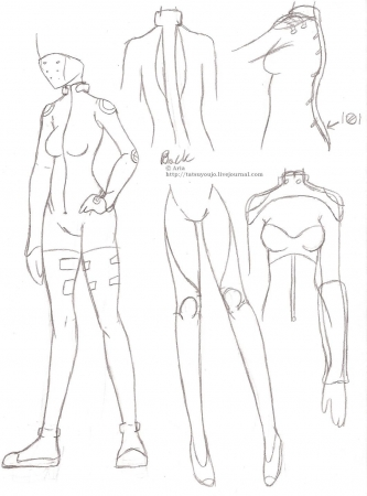 Body suit design (f)