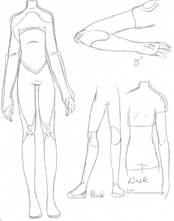 Body suit design (m)