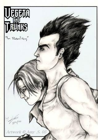 'In Reality'- Vegeta + Trunks