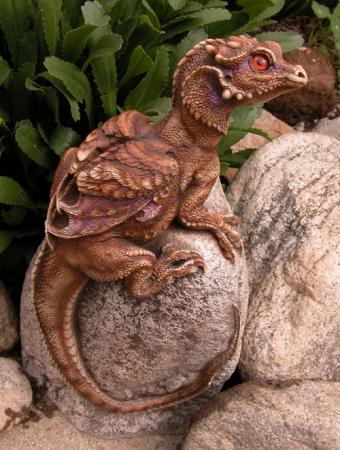 little Rock dragon