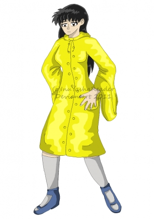 REQ: Kagome in Raincoat
