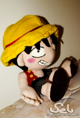 One Piece Luffy Plushie