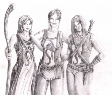 The Draconic Damsels