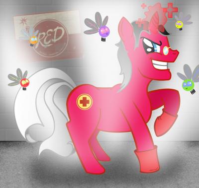 Ze Überpony (RED version)