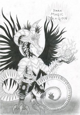 *Dark Magic Dragon*