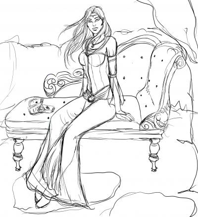 Sketch: Young Asrana