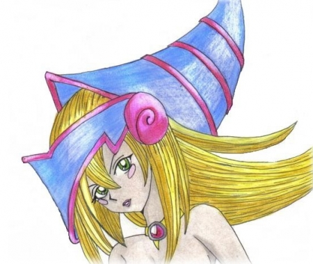 Dark Magician Girl (tame)