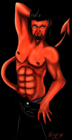 Azazel Pin-up