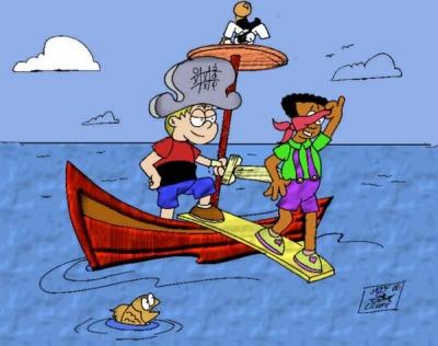 Sam and Javon Pirates