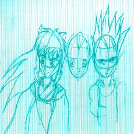 3 Cool Guys Sketch