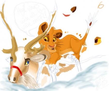 Simba's Winter WIP