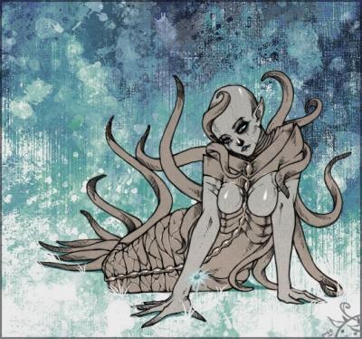 FanArt - Unhuman Variation