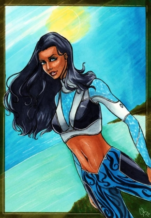 Aquagirl- Lorena Marquez