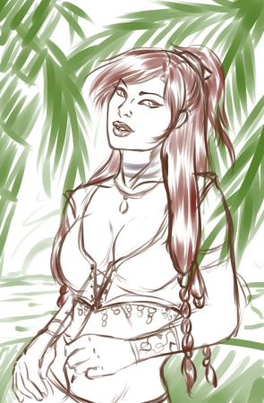 Sketch: Summertime!