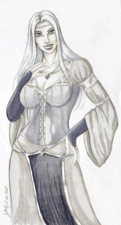 Copic Sketch: Asrana