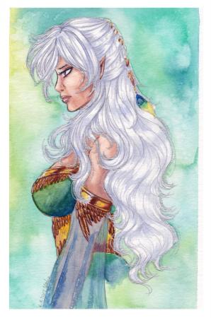 Watercolor: Shayasanya