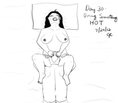 Day 30: Cunnilingus