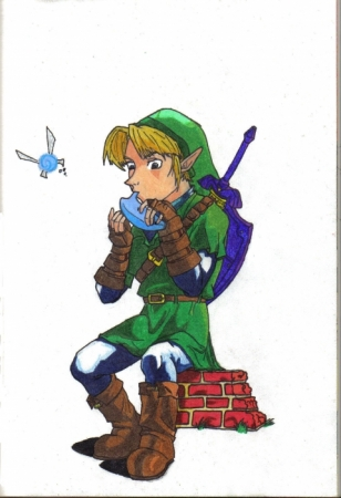 How Link spends his time off