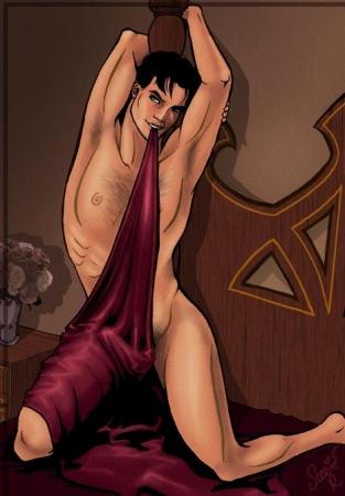 Draped in Satin