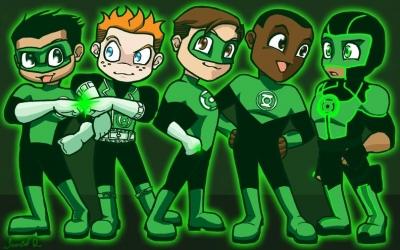 Green Lantern Chibis